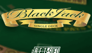 Игра Single Deck Blackjack by Betsoft